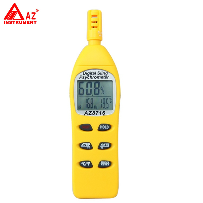 AZ-8716 Portable Humidity Temperature Hygro-Thermometer TesterAZ-8716 Portable Humidity Temperature Hygro-Thermometer Tester
