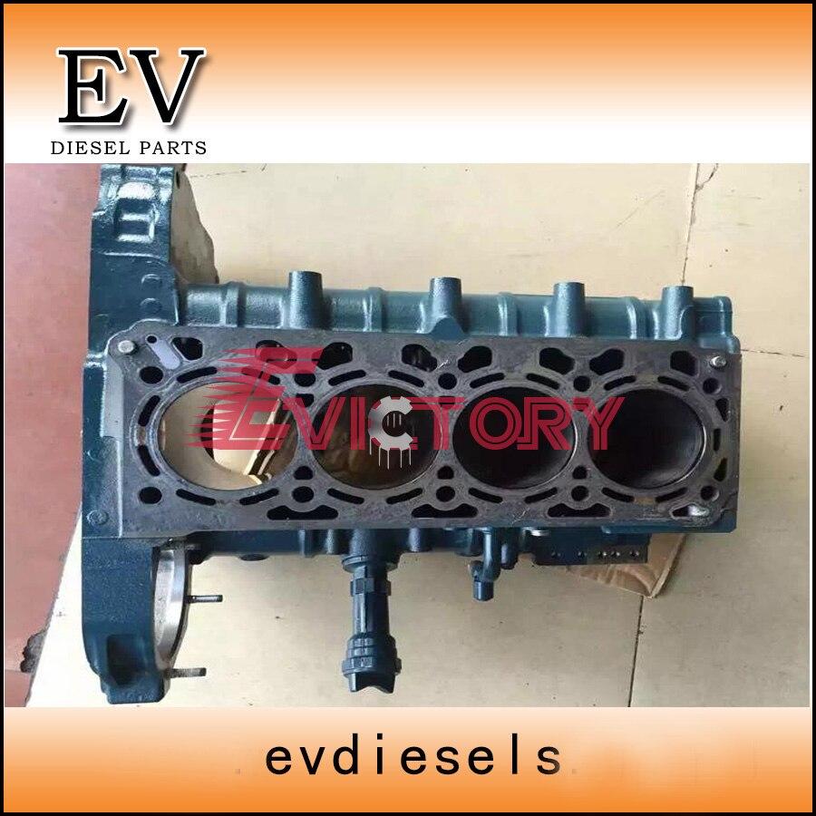 Genuine Kubota V2607 V2607T cylinder block for Bobcat excavator