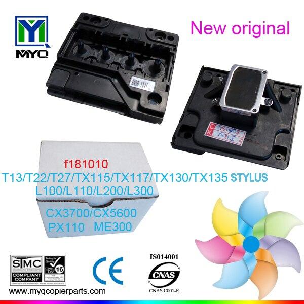 T13/T22/T27/TX115/TX130/TX117/TX135/L100/L200 printhead for printer for epson L100 printer
