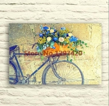 5D DIY diamond painting Bicycle and flower New crafts diy embroidery kit full mosaic cross stitch deocr