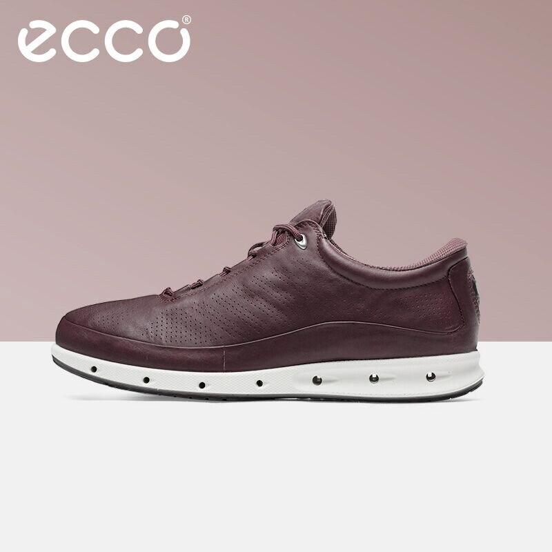 Ecco mode jeunesse affaires mocassins respirant confortable chaussures pour hommes avec chaussures décontractées hommes