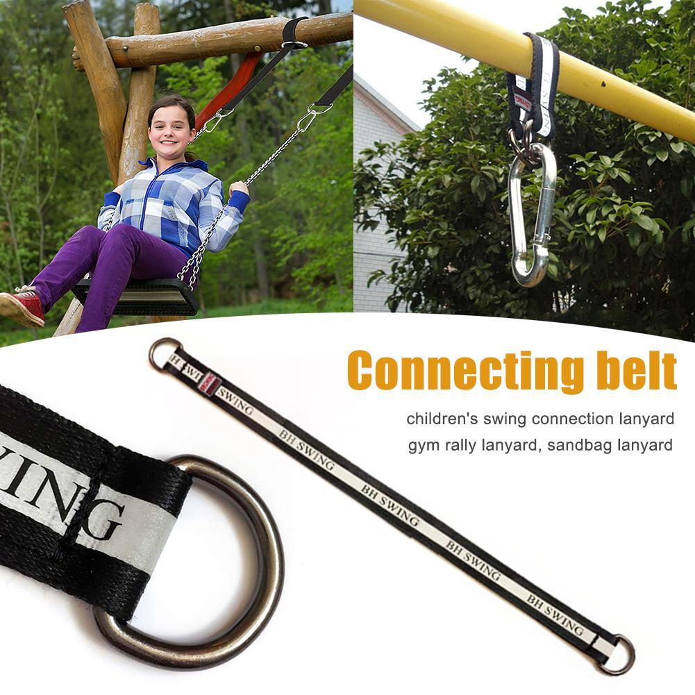 ①  Kids Swing Соединительный Пояс Светоотражающий Веревка Выделите Yoga Trx Fitness Висячие многофункци ★