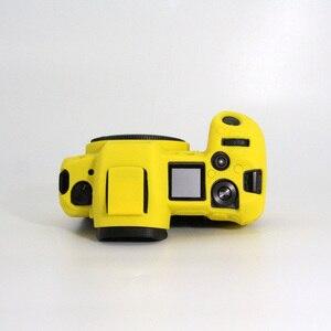Image 4 - Funda de silicona para Canon EOSR cuerpo Protector de la cubierta de silicona suave cuerpo Protector de goma de cámara caso piel para Canon EOS R