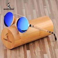 BOBO oiseau bois lunettes de soleil femmes oculos de sol feminino marque de luxe lunettes de soleil hommes lunette de soleil femme en boîte en bois