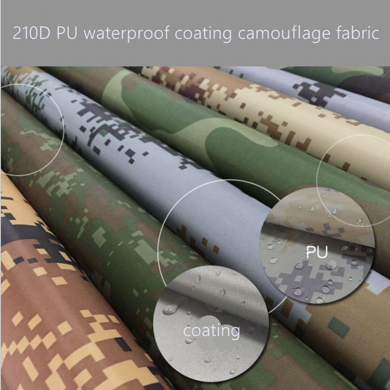 waterproof camouflage fabric 1