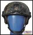 M/lg aor2 camo kevlar capacete à prova de balas nij iiia 3a rápido (com Relatório de Teste) MARPAT Woodland Aramida Capacete/Capacete à prova de Bala