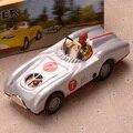 Retro Estaño Deportes Racer Car Vehículo Colecciones Vintage Estaño Clockwork Wind Up Juguetes Clásicos Artesanías Hechas A Mano