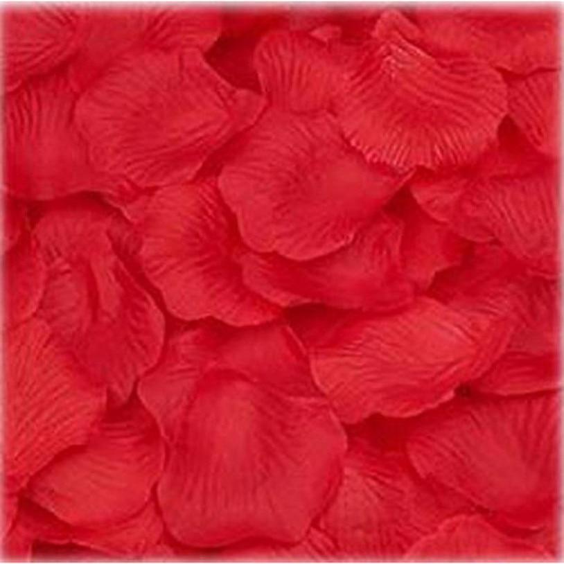1000PC Silk Artificial decorative Flower Rose Petals Wedding Party Decorations Valentine petale de rose flores artificiales
