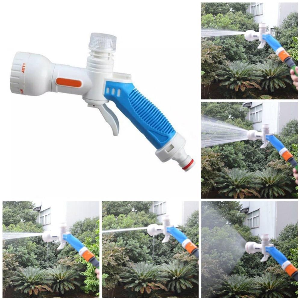 High-grade Multi-funktion Hochdruck PC Garten Wasser Pistolen Spray Düse Multi-funktion Sprinkler Schaum Wasser gun 40