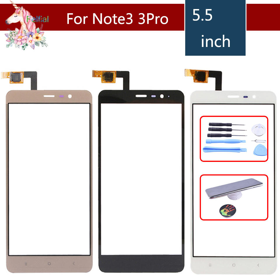 <font><b>Original</b></font> TouchScreen Für <font><b>Xiaomi</b></font> <font><b>Redmi</b></font> Hinweis 3 150mm Pro Note3 Pro 152mm Touchscreen Digitizer Touch Panel Sensor front Glas image