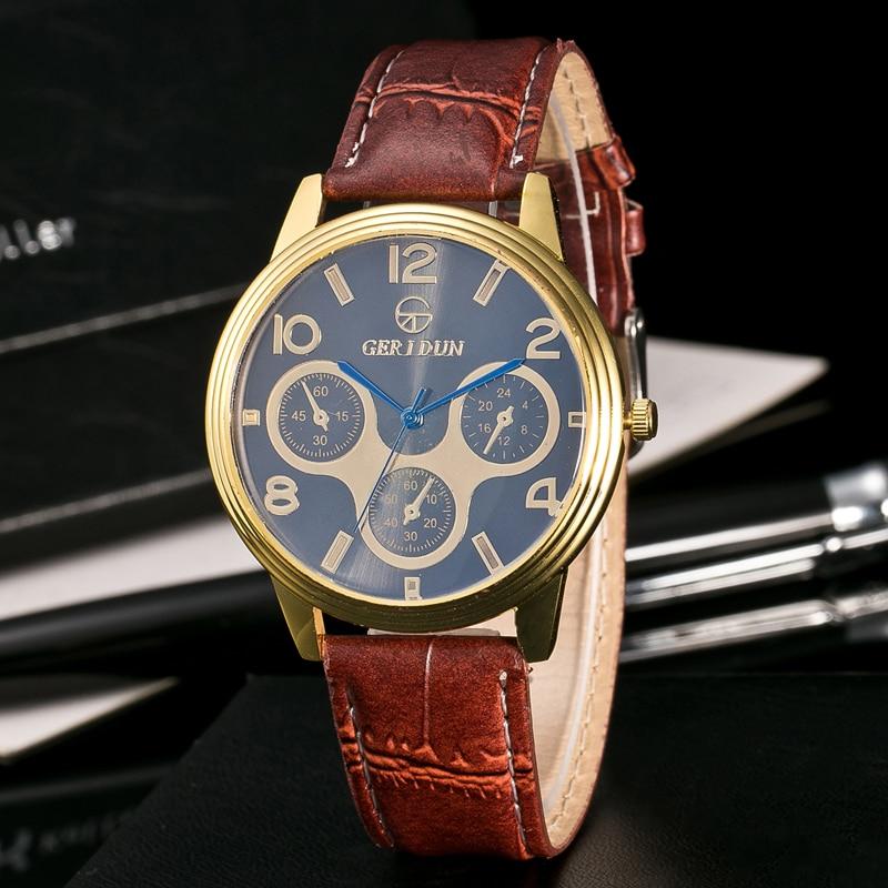 2017 Fashion Chronograaf Sport Heren Horloges Topmerk Luxe Militaire - Herenhorloges - Foto 5
