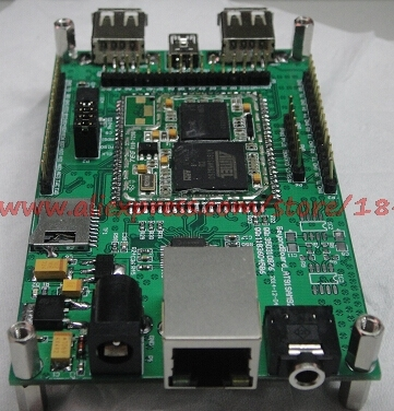 free shipping   ARM9 AT91SAM9260 Linux ATMEL network development board spike STM32F 51 microcontroller