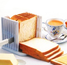 Plastic Foldable And Adjustable Bread Slicer Toast Loaf Sandwich Cutter Mold Baking Tools Kitchen Gadgets