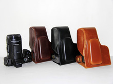 Free Shipping High Quality PU Leather Camera Case Bag Cover for Nikon Coolpix P900s P900 digital camera Black Brown Coffee