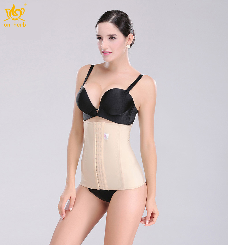 Cn Herb Abdomen With Thin Waist Bandage Four Breathable Lady Postpartum Weight-loss Stomach Girdle postpartum bbdomen belt corset maternal supplies breathable beautiful body slim waist weight loss