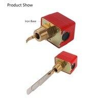 2pcs/set Flow sensors 1 inch 220VAC 3Water/Paddle Male Thread Flow Paddle Water Pump Flow Switch HFS25 High Q