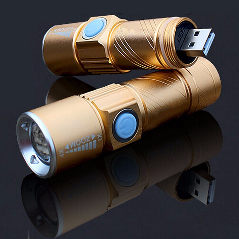 3 Mode Tactical Flash Light Torch Mini Zoom Rechargeable Powerful USB LED Flashlight AC Lanterna For Outdoor Travel Lighting 3 mode tactical flash light torch mini zoomable rechargeable powerful usb led flashlight pocket lamp for hunting