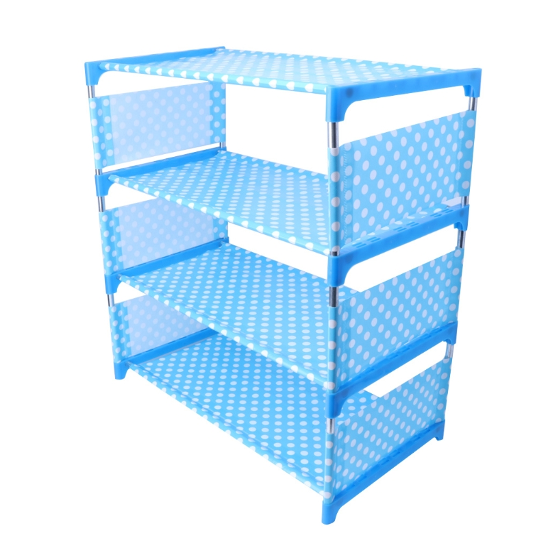 Shoes Rack Organizer Shelf 4-Tier Shoe Tower Shelf Storage Cabinet Nonwoven ShelfShoes Rack Organizer Shelf 4-Tier Shoe Tower Shelf Storage Cabinet Nonwoven Shelf