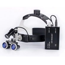 3.5X High Intensity LED Light Surgical Operation Medical Magnifier with  Dental Headlight Loupes