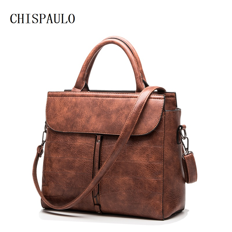 Famous Brands Designer Handbags High Quality Women's Genuine Leather Handbags Ladies Fashion Women Messenger Crocodile Bag X68 icev luxury designer high quality patent split leather women s handbags famous brands lace embroidery messenger bag ladies tote