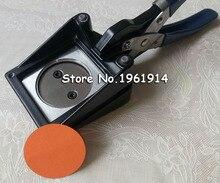 Новый ручной Руководство Круглый 32 мм 1-1/4 «Бумага Графический Удар Die Cutter для Pro Button Maker