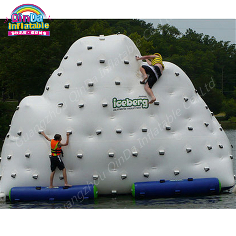 4m*3m*3m Giant Inflatable Water Float Unicorn,Pool Float Inflatable Water Iceberg Floating Platform Mountain With Free Air Pump funny summer inflatable water games inflatable bounce water slide with stairs and blowers