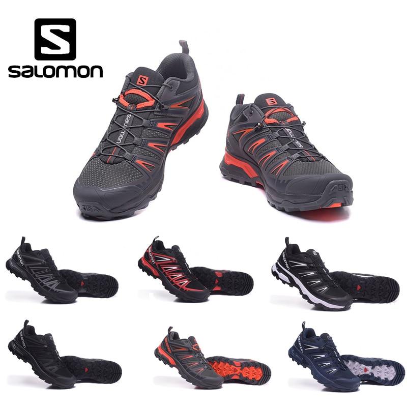 Salomon Speed Cross En Plein Air Mâle Chaussures De Sport légères Chaussures de Course Sneaker Respirant bas-top hommes Chaussures de jogging chaussures de marche