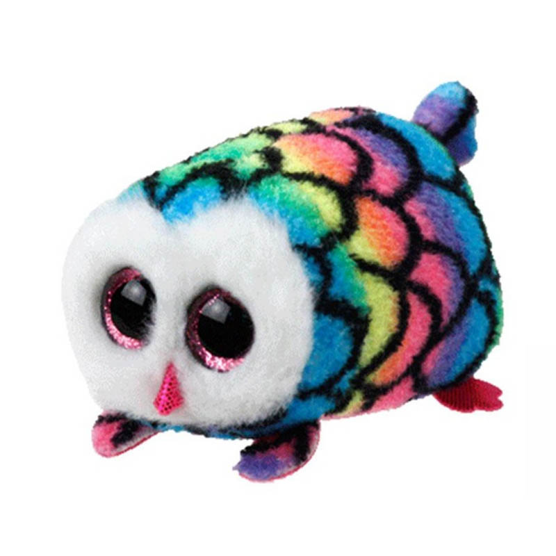 Trustful Ty Beanie Boo Teeny Tys Plush Icy The Seal 9cm Ty Beanie Boos Big Eyes Plush Toy Doll Purple Panda Baby Kids Gift Mini Toys Dolls & Stuffed Toys