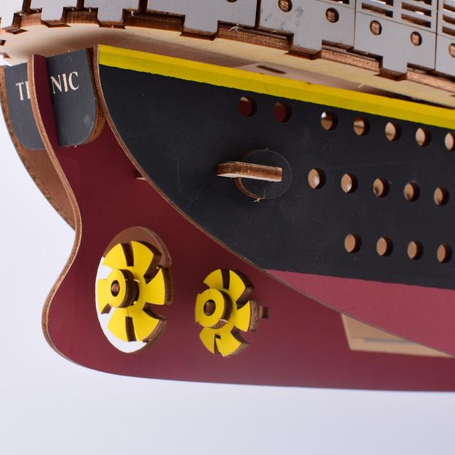 3D Titanic Wooden Puzzle