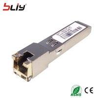 10 100 1000Base T Copper GBIC Gigabit Mini GBIC Module SFP Copper RJ45 SFP Transceiver Compatible