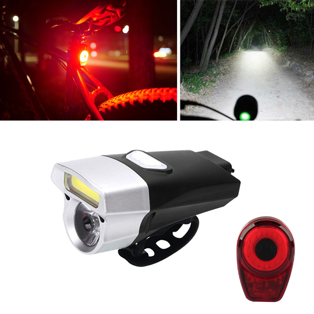 Waterproof Bicycle Light Cycling LED USB Rechargeable Taillight MTB Road Bike Tail Light Back Lamp for Bicycle Accessories