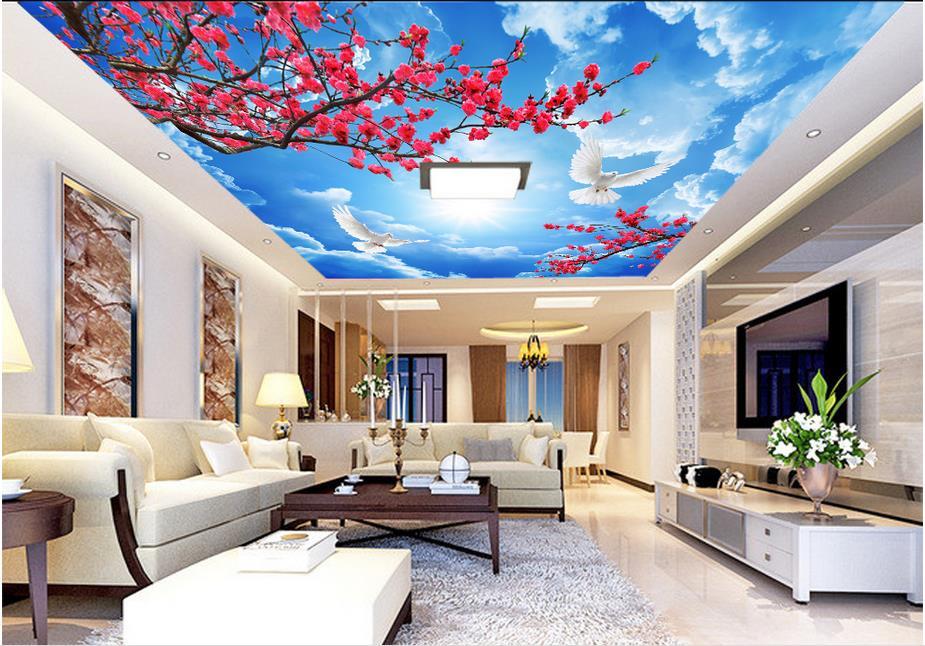 Preis Auf Sky Ceiling Wallpaper Vergleichen Online