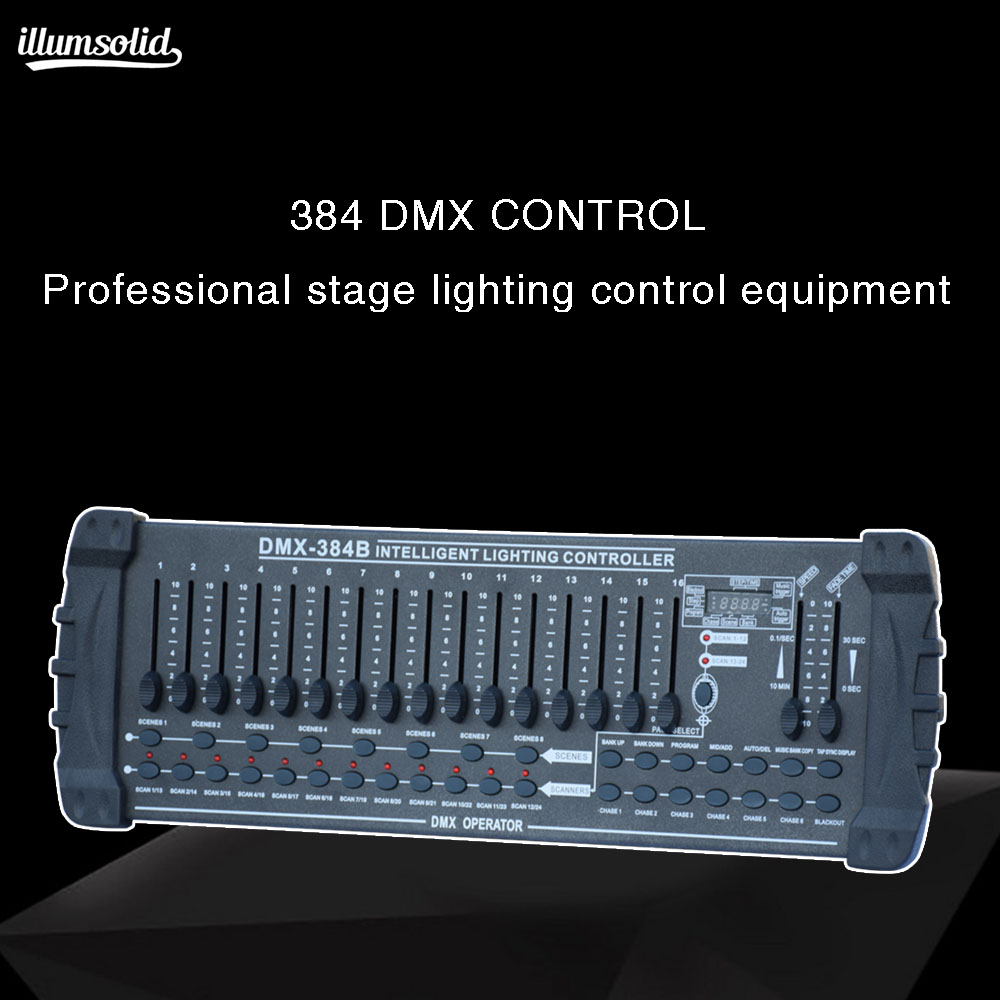 384 dmx Console for stage console moving head light Multi function controller
