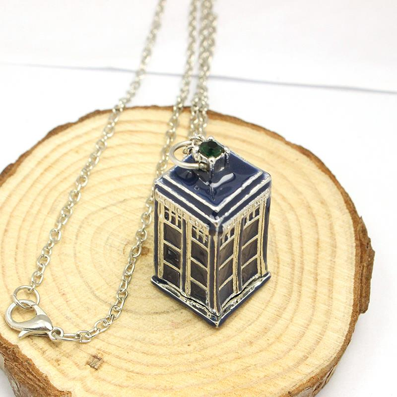 Police jewellery reviews online shopping police jewellery new bbc television doctor who tardis police box vintage blue chain necklaces pendants men women jewellery gifts free shipping aloadofball Gallery