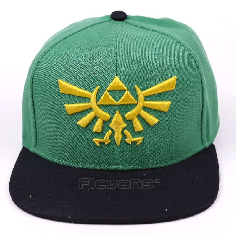 The Legend of Zelda Baseball Cap Snapback Hat For Men Women Brand Adjustable Hats Caps 2017 Fashion New cntang brand summer lace hat cotton baseball cap for women breathable mesh girls snapback hip hop fashion female caps adjustable
