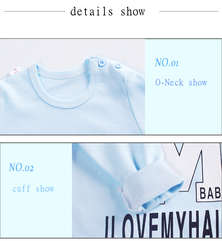 HTB1yql5bErrK1RkSne1q6ArVVXa2 Newborn baby clothes 100% Cotton Long Sleeve Spring Autumn Baby Rompers Soft Infant Clothing toddler baby boy girl jumpsuits