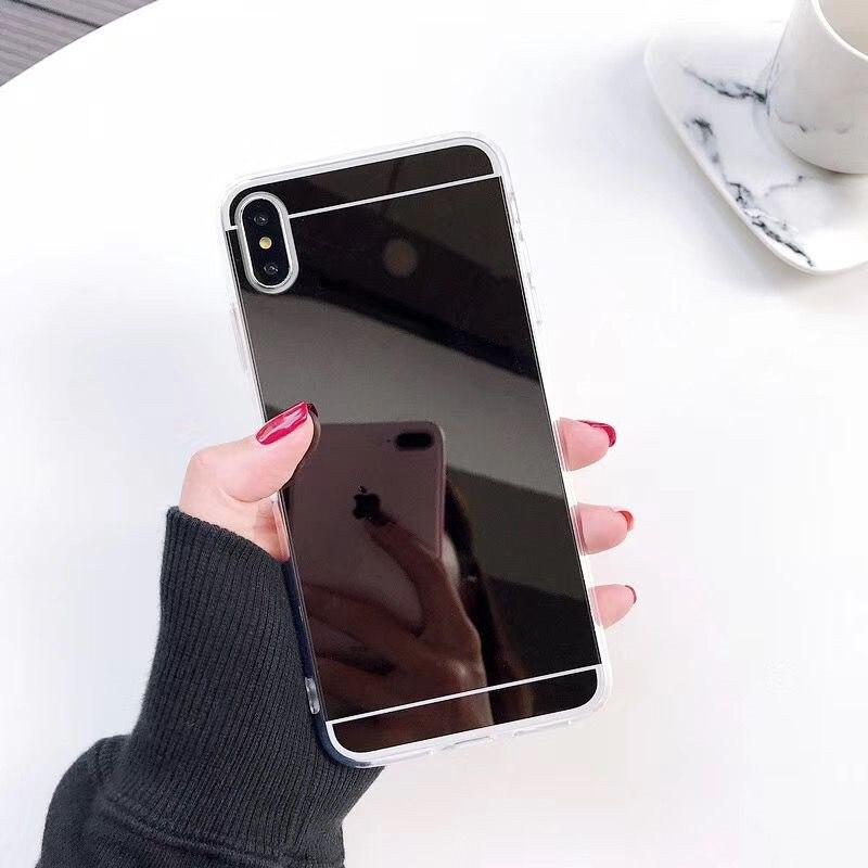Мягкий зеркальный чехол из ТПУ для Redmi Note 8 Note7 K20 противоударный 4X Note 8pro для Xiaomi 9lite F1 6X A2 силиконовый чехол для телефона