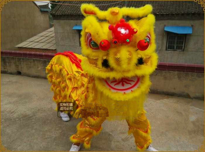 how to make a chinese lion costume