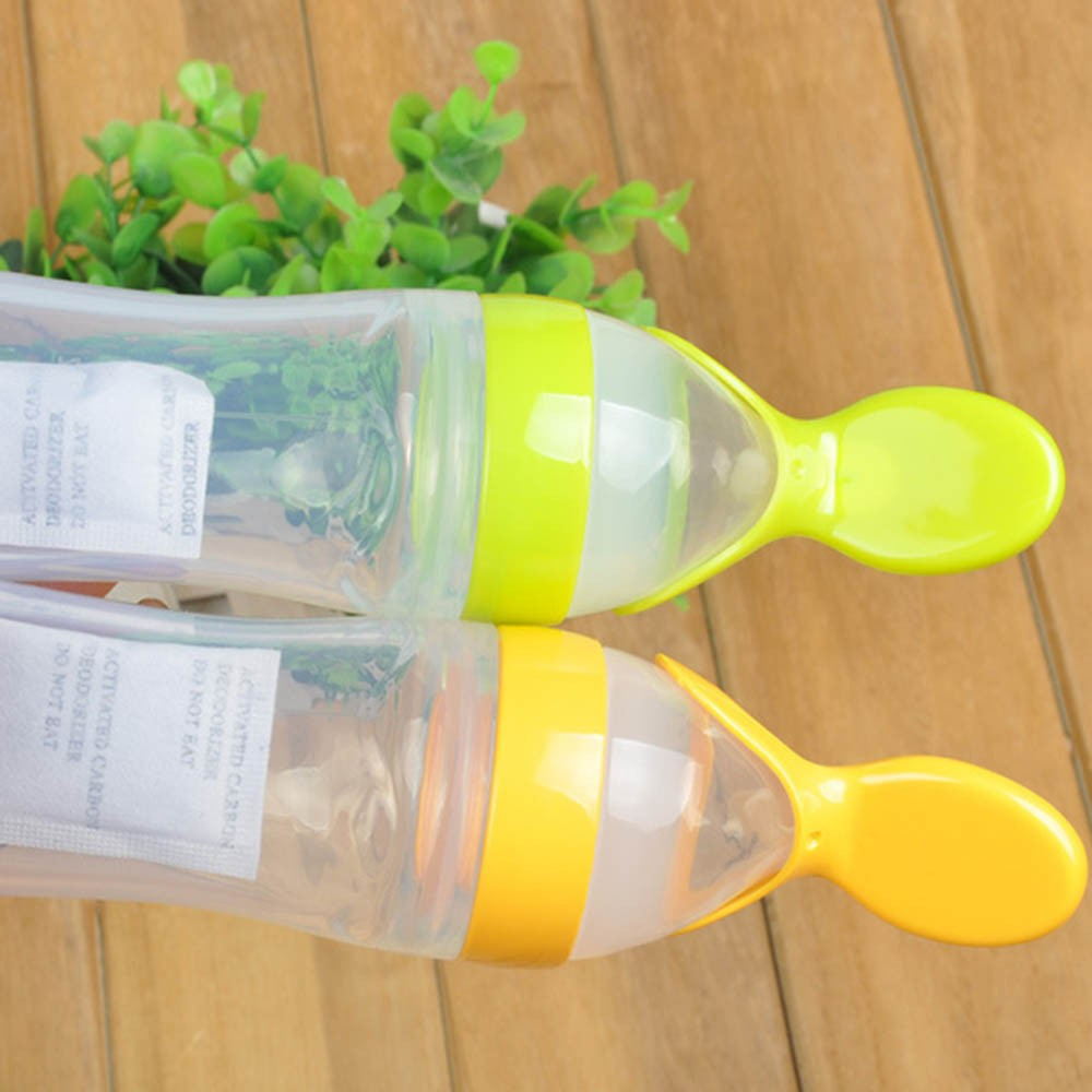 Silicone-Baby-Feeding-Bottle-With-Spoon-Food-Supplement-Rice-Cereal-Bottle-Baby-Squeeze-Spoon-Silica-Gel-Spoon-BB0065 (1)