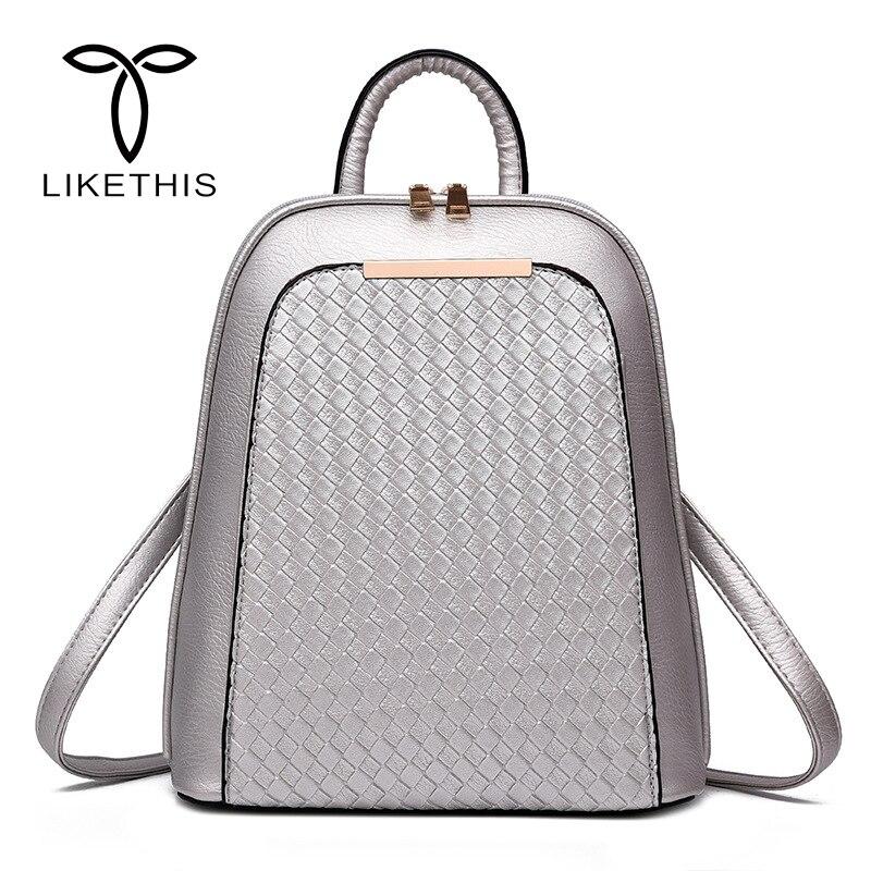 e33bd1b59d13 купить черный рюкзак, Винтаж Для женщин рюкзак дизайнер PU кожаные ...