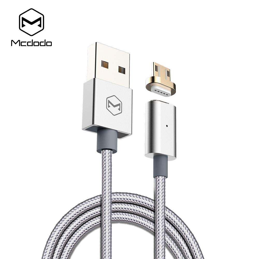Mcdodo Magnetic Micro USB Cable woven fabric indicator