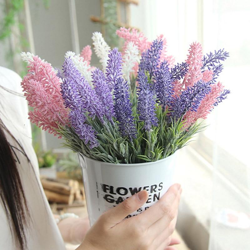 Provence Lavender Artificial Flowers For Wedding Lavender Flower