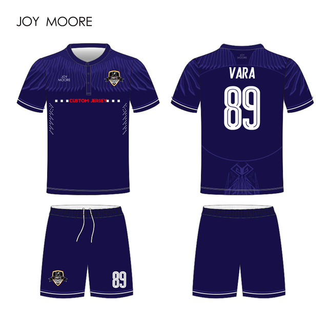 33a98897a2bee Gradiente de cor de Camisa Personalizar Uniforme do Futebol Roxo  Personalizado Este Projeto