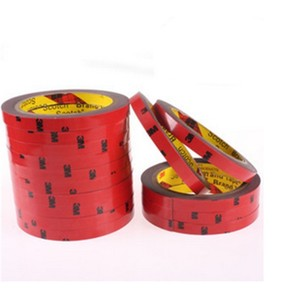Image 3 - 6/8/10/15/20mm M3 Double Sided Acrylic Foam Adhesive Tape Sticky Car Screen Repair Tape Stickers Decal For Cars Auto Accessories