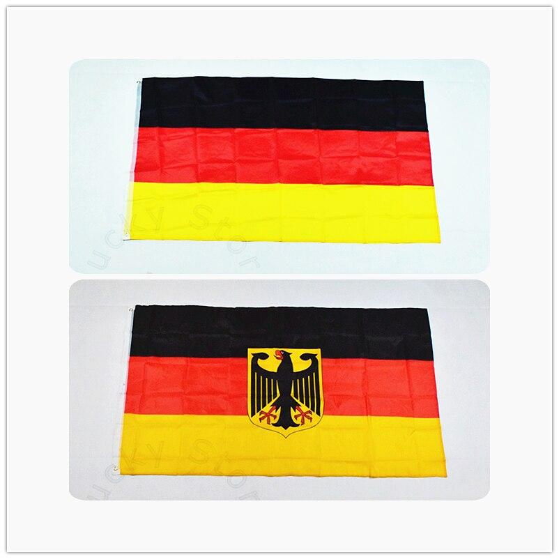 Německo vlajka 90 * 150 cm E Banner Doprava zdarma Visí státní vlajka Německo Domácí dekorace Německo vlajka