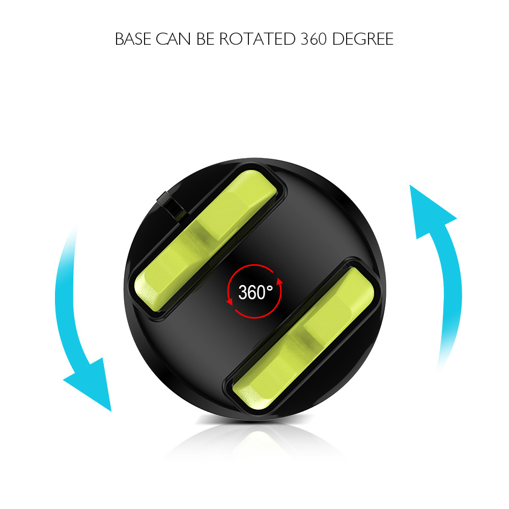 KISSCASE Universal Car Phone Holder For iPhone Samsung 360 Rotatable Car Mobile Phone Holder Stand For Xiaomi Huawei HTC LG Sony
