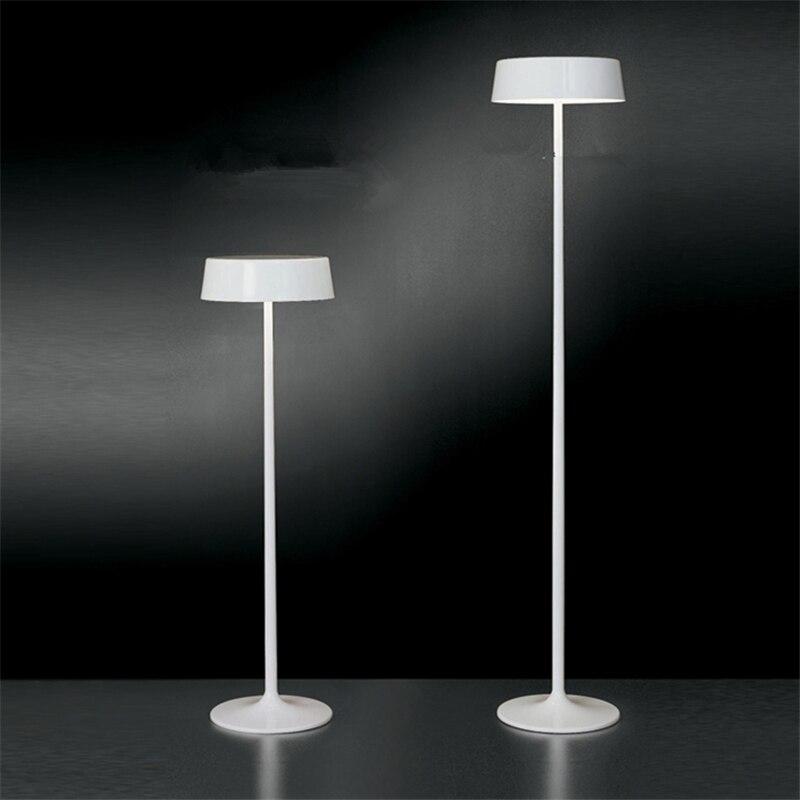 blancrougenoir moderne de luxe lampadaire led lecture design italien lampes vintage salon dcoratifs pour la maison clairage fl 12 dans lampadaires de - Lampadaire Design Italien