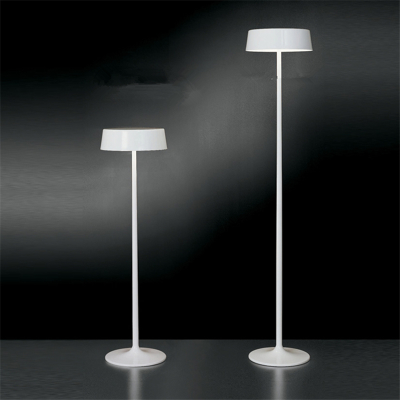 Buy white red black modern luxury floor for Living lighting floor lamps