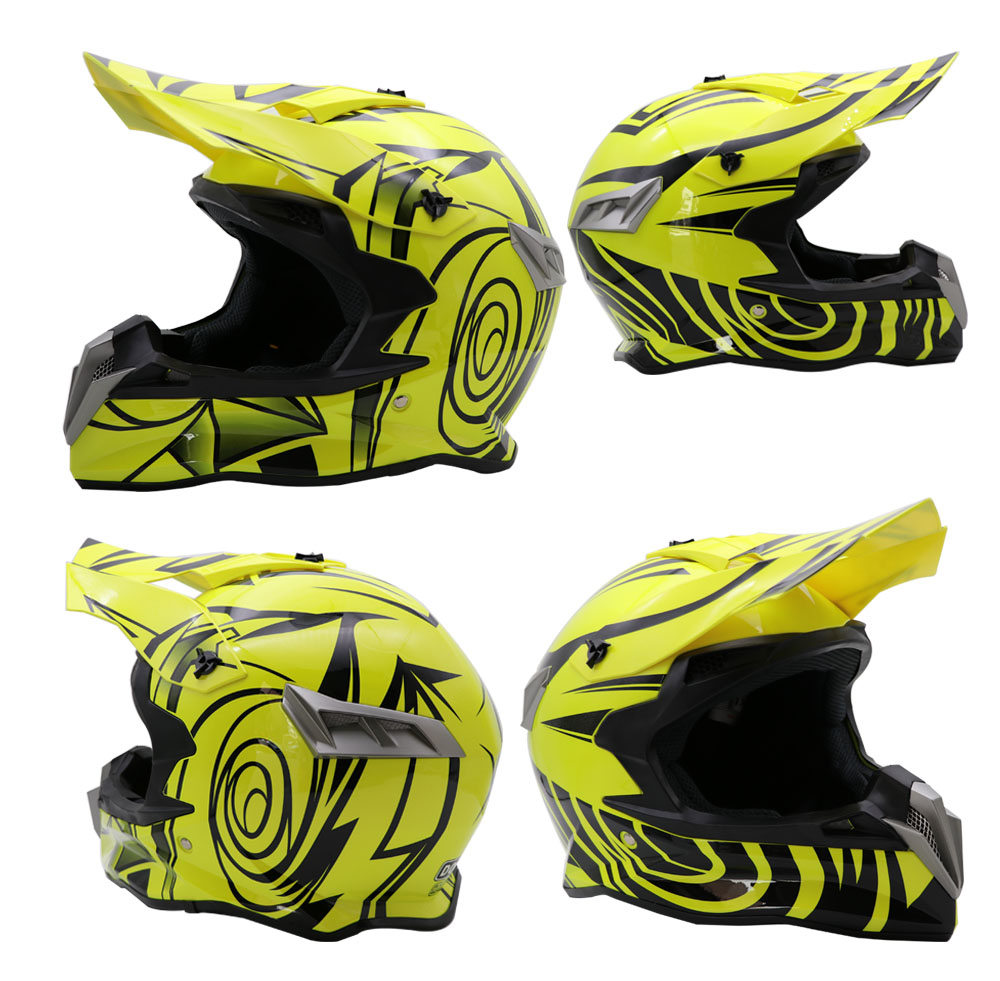 Brand New Motorcycle Motocross Helmet Off-Road Racing Dirt Bike Helmets Gear S M L XL XXL Moto Casque Capacete Casco DOT
