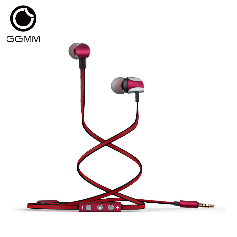 GGMM Cuckoo In Ear Earphones Noise-Isolating Earbuds Metal Sports Wired Stereo Earphone for iPhone iPod Mobile Phone auriculares doosl metal earphone noise isolating earbuds hifi music in ear wired for iphone ios android cellphones pc fone de ouvido